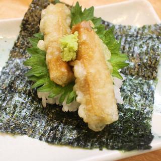 絶品の天ぷらが自慢