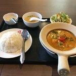 福 タイ料理 - マッサマンカレーランチ