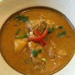 福 タイ料理 - マッサマンカレー