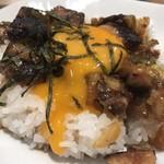 徳島ラーメン 麺王 - チャーシュー丼