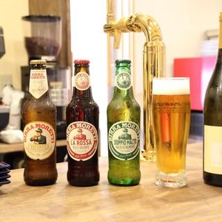 イタリア産ビールモレッティー