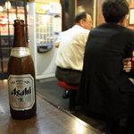末廣ラーメン本舗  - 瓶ビール 550円