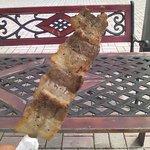8720697 - 肉汁たっぷりの、豚串です