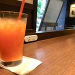 サンマルクカフェ - 野菜ジュース