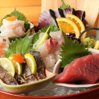 【豊洲直送】毎日仕入れる新鮮な鮮魚が楽しめる!