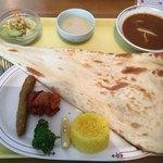 印度料理 BHINDI - 料理写真:ランチBセット(チキンカレー)