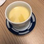 酒蔵居酒屋 ゴエモン - お通し 茶碗蒸し