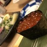 酒蔵居酒屋 ゴエモン - 握り イクラ