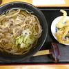 Oogiya - 料理写真:冷たい肉そばとげそ天