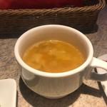 スペインクラブ銀座 - マッシュルームとコーンのスープ