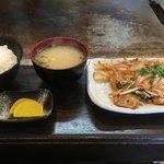 よしだ - 料理写真:豚キムチ定食ですね