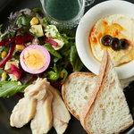 足羽山デッキ - Lunch Plate C スーパーフードプレート