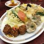 天鳳 - 料理写真:天鳳ランチ 肉団子 焼売 八宝菜