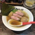 麺屋 時茂 - 料理写真:鴨煮干し醤油 ¥850