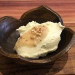 蕎麦むらた - *アボカド豆腐・・山葵が効いていて美味しい。