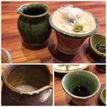 蕎麦むらた - ◆そばつゆは、福岡にしては甘味の少ないタイプ。 ◆蕎麦湯は濃厚でトロトロ。