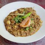 ナワブ - ゴビキーマ(1200円) カリフラワーとマトンのひき肉。