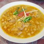 ナワブ - ムルグチャナ(1080円) チキンとひよこ豆