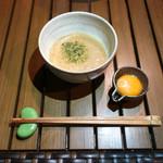 恵比寿 箸庵 - 月見とろろ