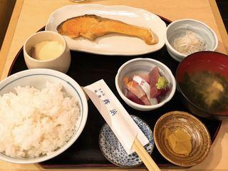 舞浜 - 焼き鮭ランチ