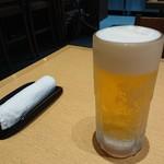 やきとり 釜飯 はん - ハッピーアワーでビール半額