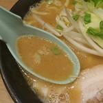 横浜家系ラーメン 町田商店 - 味噌味スープ