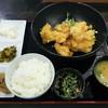 とり坊主 - 料理写真:とり天定食