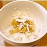 87222945 - 鶏おろしポン酢丼 10円 驚異の価格!まあすげぇちっさいんですが。