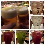 博多串焼き・野菜巻き工房  渋谷宮益坂のごりょんさん - 飲み放題!生で乾杯♪