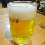 臼屋食堂 - 生ビール