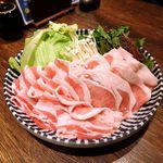 個室×九州料理 宝山邸 - 黒宝豚のとろとろ温泉豆腐しゃぶしゃぶ