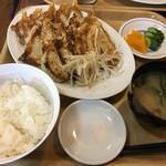 87225716 - 餃子定食(中)