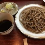 ふ~助 - ざるそば(750円 税抜) 蕎麦の甘味を感じます!