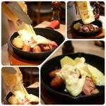 87228019 - 【コース】ラクレット (2名分)  チーズは目の前でとろり♡