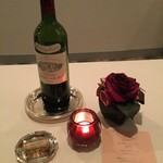 新横浜プリンスホテル - ワインも一本開けました!