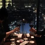 新横浜プリンスホテル - 夜景がステキなバーです!