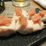 Chamidori - 笹身めんたい(博多福さ屋)