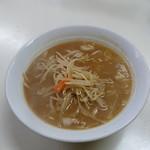 甲田 - 味噌ラーメン。