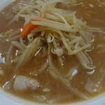 甲田 - シンプルな具ですが、このスープにはベスト。