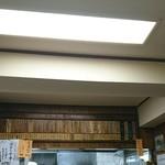 甲田 - カウンター上のメニュー、お食事ver.