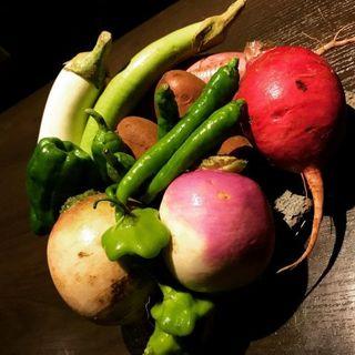 自社農園から有機野菜を直送しています!