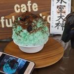 カフェ フクバコ - 料理写真:チョコミントDX・ひむろしらゆき祭り