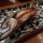 大垣のてっぺん - 鯖の浜焼き1180円