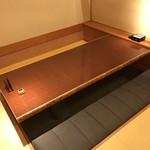 個室会席北大路 日本橋茶寮 - 個室利用にしました。席料はかかりません。