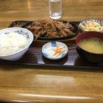 きらく亭 - バラ焼き定食
