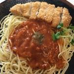 杉の子 - カツスパゲティ