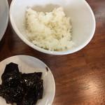 87237753 - Gセットご飯と昆布佃煮