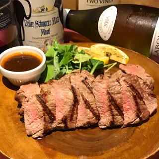 【Meat】国産!大沼牛のサーロインステーキ