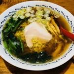 串とろ - 煮干し 八戸らーめん(800円)