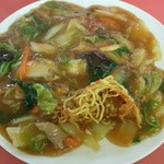 中華レストラン 大鳳 - 料理写真:麺をひっぱり出し